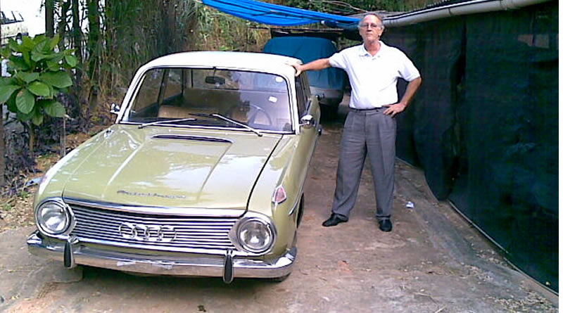 O DKW F102 do Doctor Helio