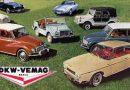 Os automóveis DKW produzidos pela Vemag